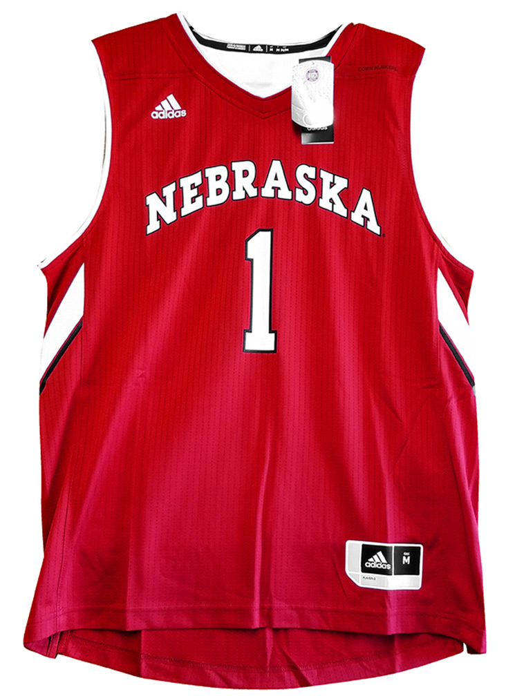 Adidas 2017 Go Big Red Basketball Jersey