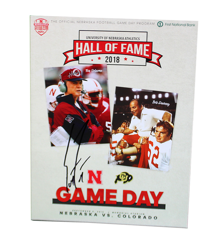 Coach Frost Autographed First Game Program