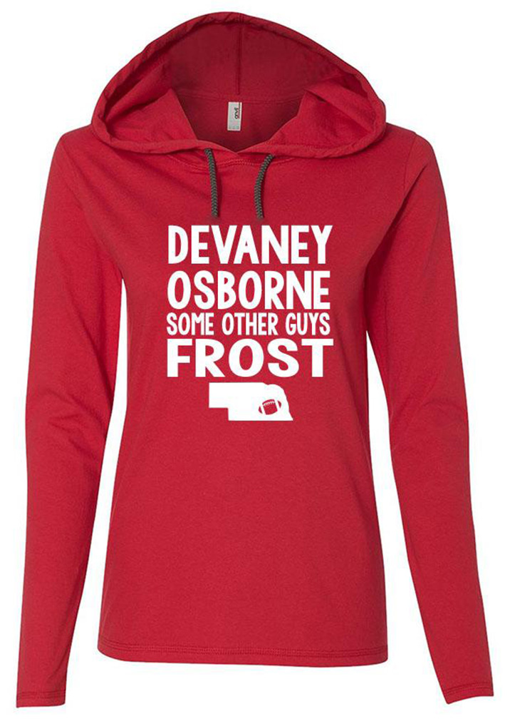 Devaney Osborne N Frost Ladies Lightweight Hoodie