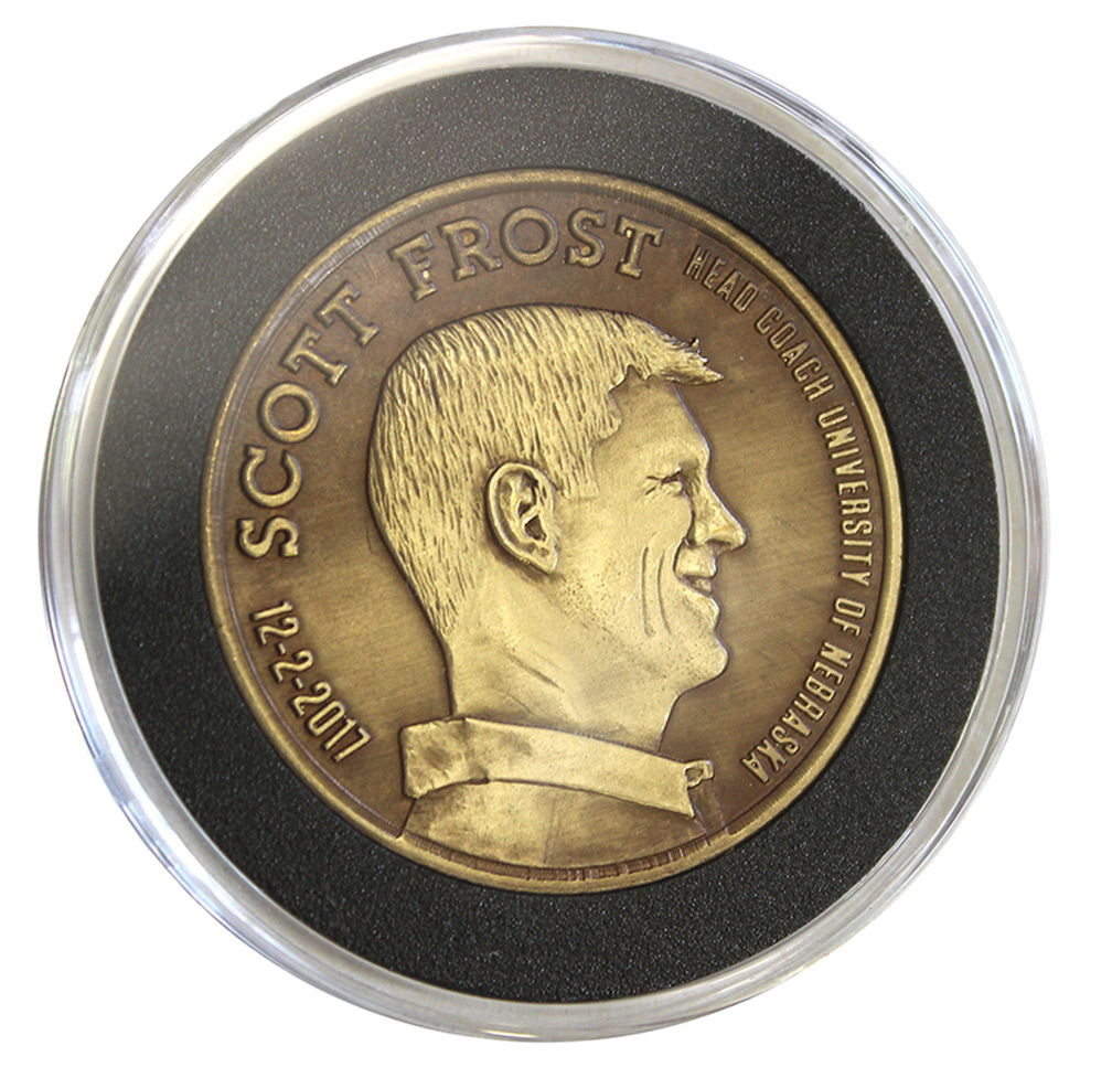 Scott Frost Head Coach Commemorative Coin