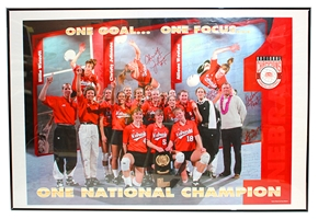 1995 Volleyball Autographed National Champs Print Nebraska Cornhuskers, Nebraska One of a Kind, Huskers One of a Kind, Nebraska  Former Players, Huskers  Former Players, Nebraska  Framed & Mounted, Huskers  Framed & Mounted, Nebraska  Heisman Winners, Huskers  Heisman Winners, Nebraska  Framed Pieces, Huskers  Framed Pieces, Nebraska Johnny The Jet Signed Plaque, Huskers Johnny The Jet Signed Plaque