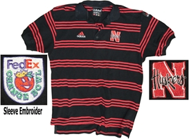1996 Orange Bowl Polo Nebraska Cornhuskers, Nebraska One of a Kind, Huskers One of a Kind, Nebraska 1996 Orange Bowl Polo , Huskers 1996 Orange Bowl Polo