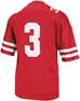 Adidas No. 3 Replica Nebraska Football Jersey - AS-55103