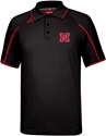 2013 Official Adidas Sideline Coaches Polo In Black Nebraska Cornhuskers, Nebraska Mens, Huskers Mens, Nebraska  Mens Polos, Huskers  Mens Polos, Nebraska Polos, Huskers Polos, Nebraska Golf Items, Huskers Golf Items, Nebraska 2013 Official Adidas Sideline Coaches Polo In Black, Huskers 2013 Official Adidas Sideline Coaches Polo In Black