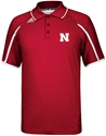 2013 Official Adidas Sideline Coaches Polo In Red Nebraska Cornhuskers, Nebraska Mens, Huskers Mens, Nebraska  Mens Polos, Huskers  Mens Polos, Nebraska Polos, Huskers Polos, Nebraska Golf Items, Huskers Golf Items, Nebraska 2013 Official Adidas Sideline Coaches Polo In Red, Huskers 2013 Official Adidas Sideline Coaches Polo In Red