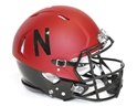 2014 Alternate Husker Authentic Speed Helmet Nebraska Cornhuskers, Nebraska Collectibles, Huskers Collectibles, Nebraska 2014 Alternate Authentic Speed Helmet, Huskers 2014 Alternate Authentic Speed Helmet