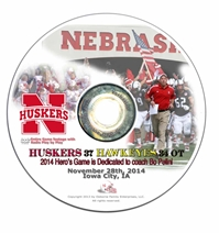 2014 Nebraska vs Iowa DVD Nebraska Cornhuskers, Nebraska  2014 Season, Huskers  2014 Season, Nebraska  1998 to Present, Huskers  1998 to Present, Nebraska  Show All DVD's, Huskers  Show All DVD's, Nebraska 2014 Nebraska vs Iowa DVD, Huskers 2014 Nebraska vs Iowa DVD