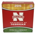 2015 Nebraska Box Calendar Nebraska Cornhuskers, Nebraska Books & Calendars, Huskers Books & Calendars, Nebraska  Office Den & Entry, Huskers  Office Den & Entry, Nebraska  Game Room & Big Red Room, Huskers  Game Room & Big Red Room, Nebraska 2015 Nebraska Box Calendar, Huskers 2015 Nebraska Box Calendar