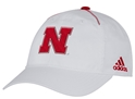 2017 Adidas Husker N White Slouch Nebraska Cornhuskers, Nebraska Headwear, Huskers Headwear, Nebraska  Mens Hats, Huskers  Mens Hats, Nebraska  Mens Hats, Huskers  Mens Hats, Nebraska  Fitted Hats, Huskers  Fitted Hats, Nebraska Mens, Huskers Mens, Nebraska Adidas White With Red Coachs Flex Hat, Huskers Adidas White With Red Coachs Flex Hat