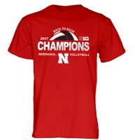 2017 Big Ten Volleyball Champs Official Tee Shirt Nebraska Cornhuskers, Nebraska  Short Sleeve, Huskers  Short Sleeve, Nebraska  Mens T-Shirts, Huskers  Mens T-Shirts, Nebraska  Mens, Huskers  Mens, Nebraska Volleyball, Huskers Volleyball, Nebraska  Ladies, Huskers  Ladies, Nebraska  Ladies T-Shirts, Huskers  Ladies T-Shirts, Nebraska Adidas Nebraska Spiker Volleyball Tee - Red, Huskers Adidas Nebraska Spiker Volleyball Tee - Red, 2017 Big Ten Volleyball Champs Official Tee Shirt