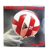 2019 Nebraska Volleyball Wall Calendar Nebraska Cornhuskers, Nebraska Books & Calendars, Huskers Books & Calendars, Nebraska  Office Den & Entry, Huskers  Office Den & Entry, Nebraska Volleyball, Huskers Volleyball, Nebraska 2019 Nebraska Volleyball Wall Calendar, Huskers 2019 Nebraska Volleyball Wall Calendar