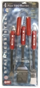 4 Piece Bar-B-Que Set Nebraska Cornhuskers, Nebraska  Summer Fun, Huskers  Summer Fun, Nebraska  Tailgating, Huskers  Tailgating, Nebraska  Kitchen & Glassware, Huskers  Kitchen & Glassware, Nebraska  Patio, Lawn & Garden, Huskers  Patio, Lawn & Garden, Nebraska 4 Piece Bar-B-Que Set, Huskers 4 Piece Bar-B-Que Set