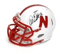 Abdullah Autographed Mini Speed Helmet Nebraska Cornhuskers, Nebraska  Former Players, Huskers  Former Players, Nebraska  Balls & Helmets, Huskers  Balls & Helmets, Nebraska Collectibles , Huskers Collectibles , Nebraska Martinez Autographed Unrivaled Mini Helmet, Huskers Martinez Autographed Unrivaled Mini Helmet