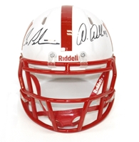 Abdullah Pelini Autographed Mini Speed Helmet Nebraska Cornhuskers, Nebraska  Former Players, Huskers  Former Players, Nebraska  Balls & Helmets, Huskers  Balls & Helmets, Nebraska Collectibles , Huskers Collectibles , Nebraska Martinez Autographed Unrivaled Mini Helmet, Huskers Martinez Autographed Unrivaled Mini Helmet