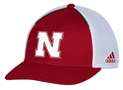 Adidas 17 Go Big Red Meshy Sideline Lid Nebraska Cornhuskers, Nebraska  Accessories, Huskers  Accessories, Nebraska  Mens Hats , Huskers  Mens Hats , Nebraska Hat, Adidas 17 Go Big Red Meshy Sideline Lid