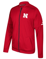 Adidas 2017 Husker Sideline Warm Up Jacket Nebraska Cornhuskers, Nebraska  Mens Outerwear, Huskers  Mens Outerwear, Nebraska  Mens, Huskers  Mens, Nebraska Adidas Red Warm Up Jacket, Huskers Adidas Red Warm Up Jacket