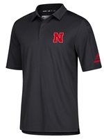 Adidas 2018 Husker Coaches Sideline Polo - Black Nebraska Cornhuskers, Nebraska  Mens Polos, Huskers  Mens Polos, Nebraska Polos, Huskers Polos, Nebraska Adidas 2018 Husker Coaches Sideline Polo - Black, Huskers Adidas 2018 Husker Coaches Sideline Polo - Black