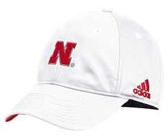 Adidas 2018 Husker Coaches Slouch Flex  - White Nebraska Cornhuskers, Nebraska  Mens Hats, Huskers  Mens Hats, Nebraska  Mens Hats, Huskers  Mens Hats, Nebraska  Fitted Hats, Huskers  Fitted Hats, Nebraska Adidas 2018 Husker Coaches Slouch Flex  - White, Huskers Adidas 2018 Husker Coaches Slouch Flex  - White