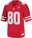 2014 Adidas #80 Replica Football Jersey Nebraska Cornhuskers, Nebraska  Mens Jerseys, Huskers  Mens Jerseys, Nebraska  Mens Jerseys  , Huskers  Mens Jerseys  , Nebraska Adidas #80 Replica Football Jersey, Huskers Adidas #80 Replica Football Jersey