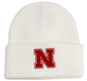 Adidas Basic Cuffed White Knit Hat Nebraska Cornhuskers, Nebraska  Mens Hats, Huskers  Mens Hats, Nebraska  Mens Hats, Huskers  Mens Hats, Nebraska  Mens, Huskers  Mens, Nebraska Adidas Basic Cuffed White Knit Hate, Huskers Adidas Basic Cuffed White Knit Hate