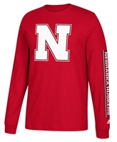 Adidas Big Nebraska N Huskers Sleeve Tee Nebraska Cornhuskers, Nebraska  Mens T-Shirts, Huskers  Mens T-Shirts, Nebraska  Mens, Huskers  Mens, Nebraska  Long Sleeve, Huskers  Long Sleeve, Nebraska Adidas Big Nebraska N Huskers Sleeve Tee, Huskers Adidas Big Nebraska N Huskers Sleeve Tee