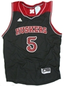 Adidas Black #5 Basketball Jersey Nebraska Cornhuskers, Nebraska  Mens Jerseys, Huskers  Mens Jerseys, Nebraska  Mens Jerseys, Huskers  Mens Jerseys, Nebraska  Basketball, Huskers  Basketball, Nebraska Adidas Black #5 Basketball Jersey, Huskers Adidas Black #5 Basketball Jersey