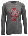Adidas Black Heather No Place Like Nebraska Long Sleeve Aeroknit Nebraska Cornhuskers, Nebraska  Long Sleeve, Huskers  Long Sleeve, Nebraska  Mens, Huskers  Mens, Nebraska  Mens T-Shirts, Huskers  Mens T-Shirts, Nebraska Adidas Black Heather No Place Like Nebraska Long Sleeve Aeroknit, Huskers Adidas Black Heather No Place Like Nebraska Long Sleeve Aeroknit