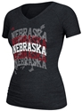 Adidas Black Over and Over Tee Nebraska Cornhuskers, Nebraska  Ladies Tops, Huskers  Ladies Tops, Nebraska  Ladies T-Shirts, Huskers  Ladies T-Shirts, Nebraska  Ladies, Huskers  Ladies, Nebraska  Short Sleeve   , Huskers  Short Sleeve   , Nebraska Adidas Black Over and Over Tee, Huskers Adidas Black Over and Over Tee