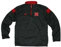 Adidas Black Sideline Long Sleeve 1/4 Zip Knit Nebraska Cornhuskers, Nebraska  Mens Outerwear, Huskers  Mens Outerwear, Nebraska  Mens, Huskers  Mens, Nebraska  Zippered , Huskers  Zippered , Nebraska Adidas Black Sideline Long Sleeve 1/4 Zip Knit, Huskers Adidas Black Sideline Long Sleeve 1/4 Zip Knit
