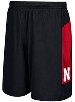 Adidas Black Sideline Team Short Nebraska Cornhuskers, Nebraska  Mens Shorts & Pants, Huskers  Mens Shorts & Pants, Nebraska Shorts & Pants, Huskers Shorts & Pants, Nebraska Adidas Black Sideline Team Short, Huskers Adidas Black Sideline Team Short
