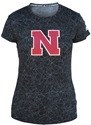 Adidas Black Ladies Dazzle Training Tee Nebraska Cornhuskers, Nebraska  Ladies Tops, Huskers  Ladies Tops, Nebraska  Ladies T-Shirts, Huskers  Ladies T-Shirts, Nebraska  Ladies, Huskers  Ladies, Nebraska  Short Sleeve   , Huskers  Short Sleeve   , Nebraska Adidas Black Womens Training Tee, Huskers Adidas Black Womens Training Tee