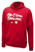 Adidas Huskers Red Burns Brighter Deluxe Fleece Hoody Nebraska Cornhuskers, Nebraska  Mens Sweatshirts, Huskers  Mens Sweatshirts, Nebraska  Mens Sweatshirts, Huskers  Mens, Nebraska Adidas Burns Brighter Fleece Hoody, Huskers Adidas Adidas Burns Brighter Fleece Hoody
