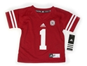 Adidas Childrens #1 Jersey Nebraska Cornhuskers, husker football, nebraska cornhuskers merchandise, nebraska merchandise, husker merchandise, nebraska cornhuskers apparel, husker apparel, nebraska apparel, husker childrens apparel, nebraska cornhuskers childrens apparel, nebraska kids apparel, husker kids apparel, husker kids merchandise, nebraska cornhuskers kids merchandise,Adidas #1 Childrens Replica Jersey