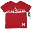 Adidas Childrens Red S/S Frat House Tee Nebraska Cornhuskers, Nebraska  Childrens, Huskers  Childrens, Nebraska  Kids, Huskers  Kids, Nebraska Adidas Childrens Red S/S Frat House Tee, Huskers Adidas Childrens Red S/S Frat House Tee
