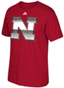 Adidas Chromed Nebraska Iron N Tee Nebraska Cornhuskers, Nebraska  Mens T-Shirts, Huskers  Mens T-Shirts, Nebraska  Mens, Huskers  Mens, Nebraska  Short Sleeve, Huskers  Short Sleeve, Nebraska Blackshirts, Huskers Blackshirts, Nebraska Adidas Chromed Blackshirts Tee, Huskers Adidas Chromed Blackshirts Tee