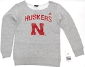 Adidas Girls Fleece Crew Neck Sweatshirt Nebraska Cornhuskers, Nebraska  Youth, Huskers  Youth, Nebraska  Crew, Huskers  Crew, Nebraska  Kids , Huskers  Kids , Nebraska Adidas Girls Fleece Crew Neck Sweatshirt, Huskers Adidas Girls Fleece Crew Neck Sweatshirt