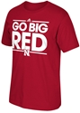 Adidas Go Big Red N Tee Nebraska Cornhuskers, Nebraska  Mens T-Shirts, Huskers  Mens T-Shirts, Nebraska  Mens, Huskers  Mens, Nebraska  Short Sleeve, Huskers  Short Sleeve, Nebraska Adidas Go Big Red N Tee , Huskers Adidas Go Big Red N Tee