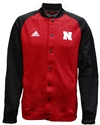 Adidas Go Big Red Sideline Button Up Jacket Nebraska Cornhuskers, Nebraska  Mens Outerwear, Huskers  Mens Outerwear, Nebraska  Mens Sweatshirts, Huskers  Mens Sweatshirts, Nebraska  Mens, Huskers  Mens, Nebraska  Mens, Huskers  Mens, Nebraska Adidas Nebraska Full Zip Black Warmup Jacket, Huskers Adidas Nebraska Full Zip Black Warmup Jacket