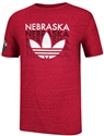 Adidas Red Block Out Shirt Nebraska Cornhuskers, Nebraska  Mens T-Shirts, Huskers  Mens T-Shirts, Nebraska  Mens, Huskers  Mens, Nebraska  Short Sleeve   , Huskers  Short Sleeve   , Nebraska Adidas Grey Block Out Shirt, Huskers Adidas Grey Block Out Shirt