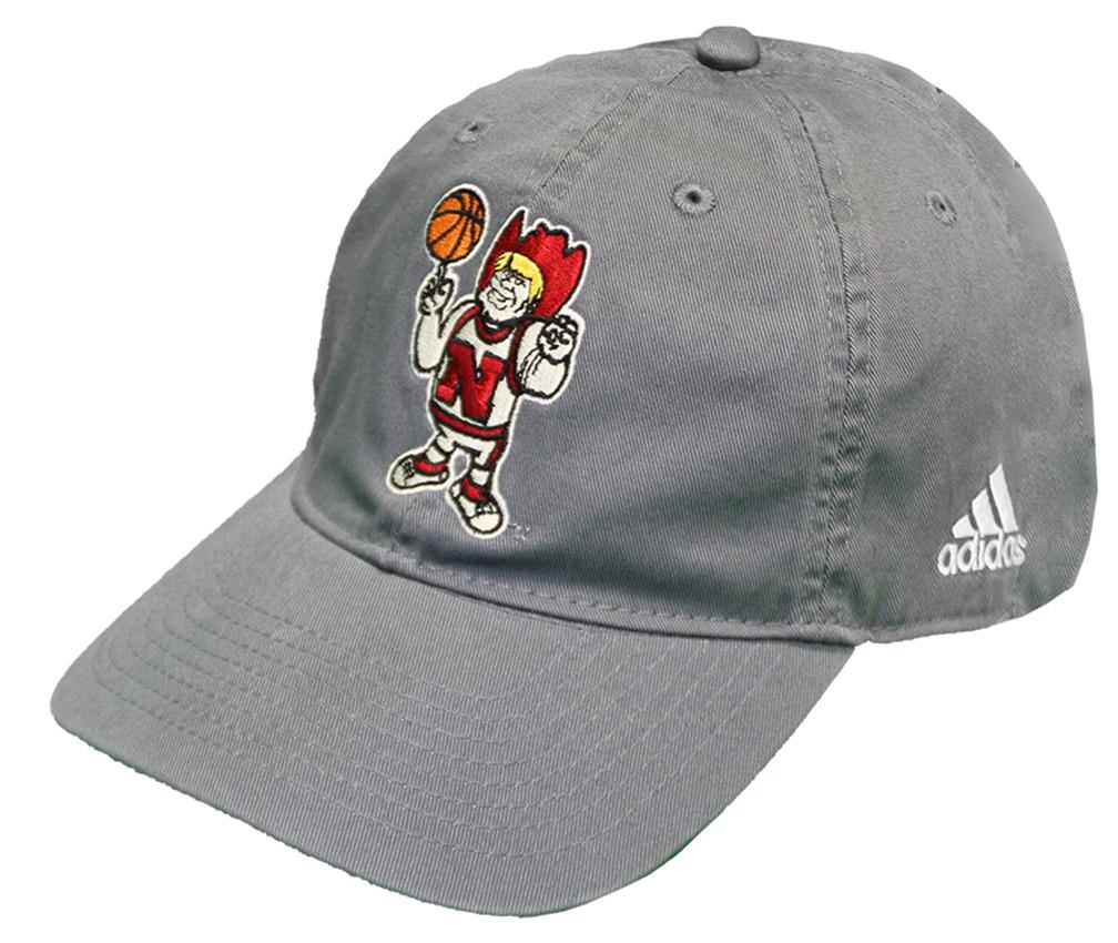 1aa036195ac83 good adidas herbie husker basketball cap nebraska cornhuskers nebraska mens  hats huskers mens hats 29211 ed166