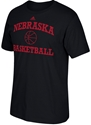 Adidas Husker Basket Ball Tee - Black Nebraska Cornhuskers, Nebraska  Short Sleeve, Huskers  Short Sleeve, Nebraska  Mens T-Shirts, Huskers  Mens T-Shirts, Nebraska  Mens, Huskers  Mens, Nebraska  Basketball, Huskers  Basketball, Nebraska Adidas Husker Basket Ball Tee - Black, Huskers Adidas Husker Basket Ball Tee - Black