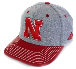 Adidas Husker Big N Structured Cap Nebraska Cornhuskers, Nebraska  Mens Hats, Huskers  Mens Hats, Nebraska  Mens Hats, Huskers  Mens Hats, Nebraska Heather Gray Struc Adj N Adi Hat, Huskers Heather Gray Struc Adj N Adi Hat