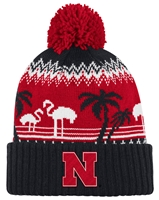 Adidas Husker Ugly Sweater Cuff Pom Knit Nebraska Cornhuskers, Nebraska  Mens Hats, Huskers  Mens Hats, Nebraska  Mens Hats, Huskers  Mens Hats, Nebraska Adidas Husker Ugly Sweater Cuff Pom Knit, Huskers Adidas Husker Ugly Sweater Cuff Pom Knit