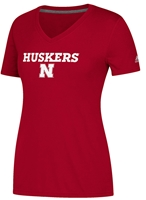 Adidas Husker Womens Ultimate Sideline Tee Nebraska Cornhuskers, Nebraska  Ladies Tops, Huskers  Ladies Tops, Nebraska  Ladies T-Shirts, Huskers  Ladies T-Shirts, Nebraska  Ladies, Huskers  Ladies, Nebraska  Short Sleeve, Huskers  Short Sleeve, Nebraska Adidas W Red SS Ultimate Sideline, Huskers Adidas W Red SS Ultimate Sideline