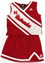 Adidas Huskers 2 Piece Girls Cheerleader Set Nebraska Cornhuskers, Nebraska  Childrens, Huskers  Childrens, Nebraska Adidas Huskers 2 Piece Girls Cheerleader Set, Huskers Adidas Huskers 2 Piece Girls Cheerleader Set