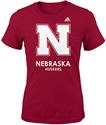 Adidas Nebraska Huskers Bling Fashion Tee Nebraska Cornhuskers, Nebraska  Youth, Huskers  Youth, Nebraska  Kids, Huskers  Kids, Nebraska Adidas Huskers Bling Fashion Tee, Huskers Adidas Huskers Bling Fashion Tee