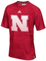 Adidas Huskers Sideline Training Red Tee Nebraska Cornhuskers, Nebraska  Mens T-Shirts, Huskers  Mens T-Shirts, Nebraska  Mens, Huskers  Mens, Nebraska Adidas Huskers Sideline Training Red Tee, Huskers Adidas Huskers Sideline Training Red Tee