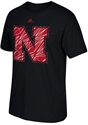 Adidas Iron N Volume Up Tee - Black Nebraska Cornhuskers, Nebraska  Short Sleeve, Huskers  Short Sleeve, Nebraska  Mens T-Shirts, Huskers  Mens T-Shirts, Nebraska  Mens, Huskers  Mens, Nebraska Adidas Iron N Volume Up Tee - Black, Huskers Adidas Iron N Volume Up Tee - Black