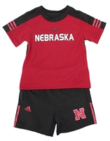 Adidas Kids Husker Gametime Short Set Nebraska Cornhuskers, Nebraska  Childrens, Huskers  Childrens, Nebraska Shorts & Pants, Huskers Shorts & Pants, Nebraska Adidas Kids Gametime Short Set, Huskers Adidas Kids Gametime Short Set