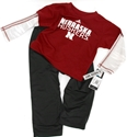 Adidas Kids L/S Tee and Pant Set Nebraska Cornhuskers, Nebraska  Long Sleeve, Huskers  Long Sleeve, Nebraska  Kids, Huskers  Kids, Nebraska  Childrens, Huskers  Childrens, Nebraska Shorts & Pants, Huskers Shorts & Pants, Nebraska Adidas Kids L/S Tee and Pant Set, Huskers Adidas Kids L/S Tee and Pant Set